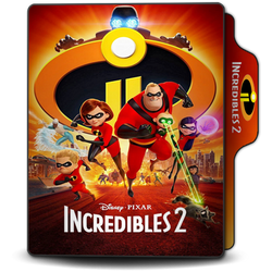 Incredibles 2 2018 Long Folder Icon by OMiDH3RO