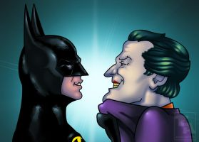 BATMAN vs JOKER 1989 02 by edwinj22