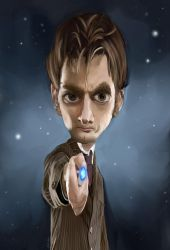 David Tennant - 10th Doctor by DeviantDel