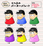 Osomatsu-san color ( meme ) by Pauly-chan