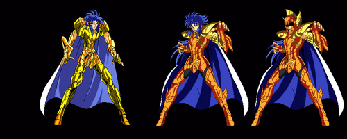 Kanon Sea Dragon - Saint Seiya standing concept by DrJackal38