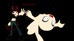 Back Off!! :Collab: by GothicBloodBitch711