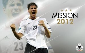 EM 2012 - Germany III Mario Gomez by ToGa-Design