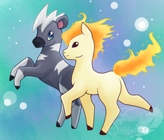 #PDDC15 Day Six- Blitzle and Ponyta
