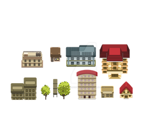 Small Buildings by carlorozykomiks