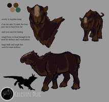 Creature concept CB by bluedrgnMethy