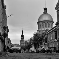 Old Montreal by Ennev