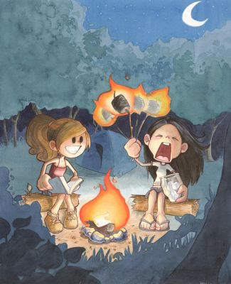 Campfire by Katie-O