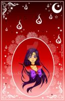 Sailor Mars Cameo by ArtimasStudio