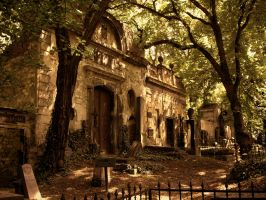 The Prague Cemetery by alukan