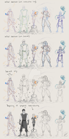 LoK OC preview by Illumikage