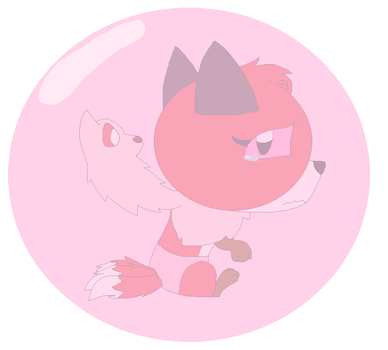 Pink Orb by LisaDots123