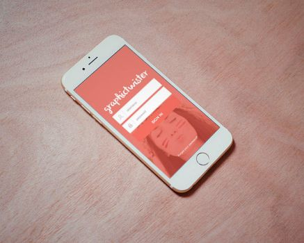Photorealistic iPhone 6 MockUp by graphictwister