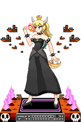 Bowsette Diorama Sprite by ScepterDPinoy
