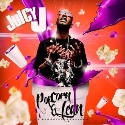 Juicy J Popcorn and Lean Mixtape Cover by Numbaz