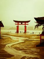 Itsukushima Shinto Shrine by happyholic
