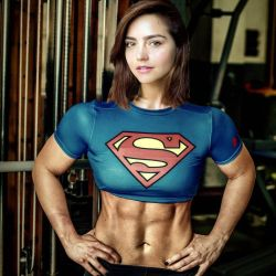 Jenna Coleman Supergirl by Mrmaskguy