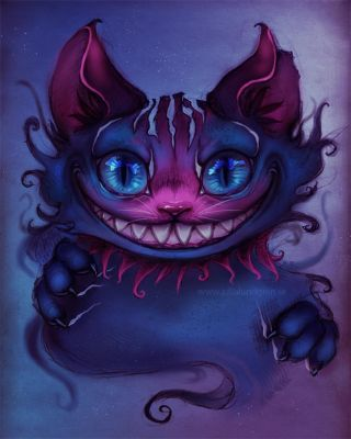 Cheshire cat by Lambidy