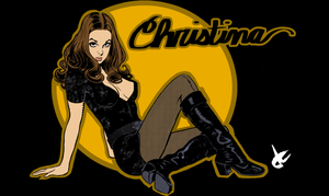 Christina Lindberg by JustinCoffee
