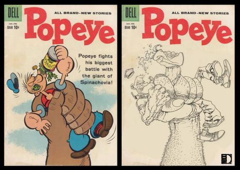 Popeye version Classic cover by spundman