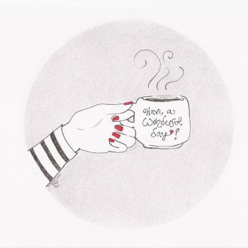 Coffee and Good Vibes by Seellen