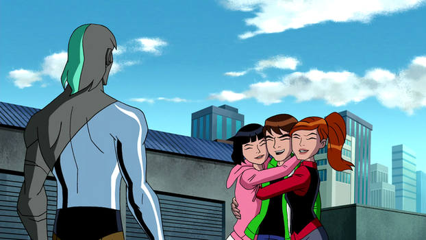 Ben and Julie and Gwen hug by newben10