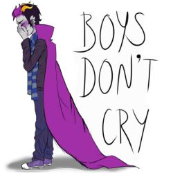 Boys Don't Cry Eridan by drowsydave