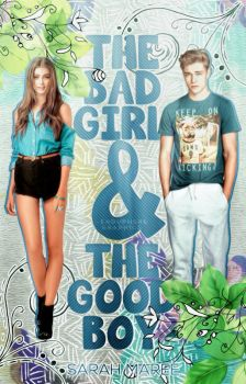 The Bad Girl And The Good Boy   Wattpad Cover by cattitudex