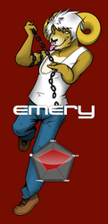 INSTINCT Fighter No.3: Emery by tealfoxy