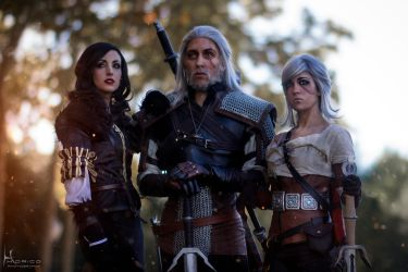 Together Again - The Witcher 3 by Hidrico