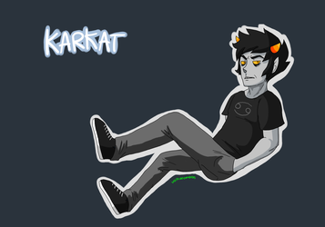 Karkat Wallpaper by atralues