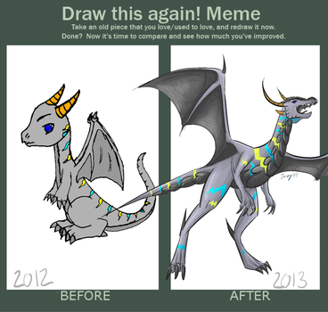 Draw this again! - Stormbringer by SlayersStronghold