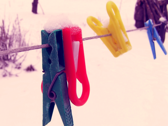 Clothes pegs by Silence-sk