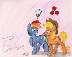 Signed By Ashleigh Ball by newyorkx3