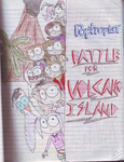 Battle for Volcano Island (Old Story Cover) by ANNE14TCO