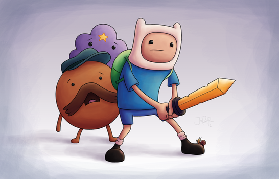 Adventure Time! by spades4