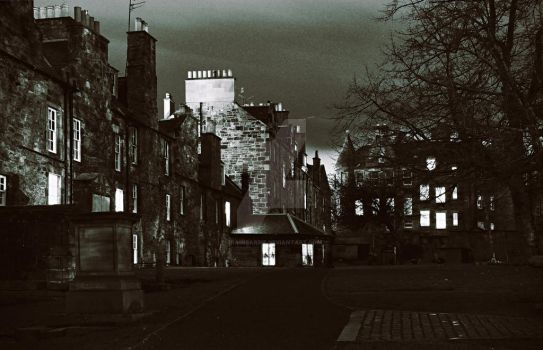Greyfriars Kirkyard - Edinburgh - Scotland 2 by Brainbarbie