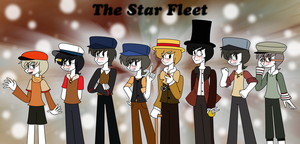 RQ - The Star Fleet Humanized by lovesdrawing721