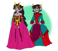 Heiress and her keeper by Textbookdoppelganger
