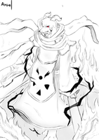 asriel with archmage costume by axael (Axaeldraw) by AxarealDraw