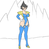 Battle suit Vegeta 2 by Daitenga