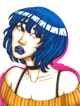 Blue by MangaAnimeLover