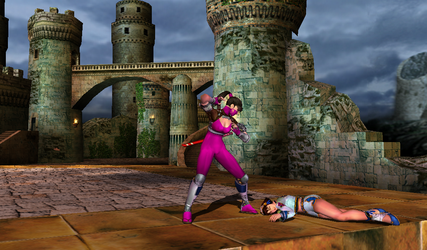 Screenshot: Taki vs Xianghua by popularca2