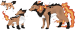 PKMN new revolution: fire by CowWithBrush