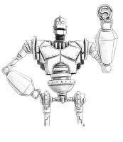 Iron Giant (Mech Madness 11) by AndrewDeFelice