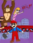 Month of Mario: Donkey Kong by DrFurball