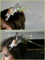 Dinglehopper Hair Comb by TheRealLittleMermaid