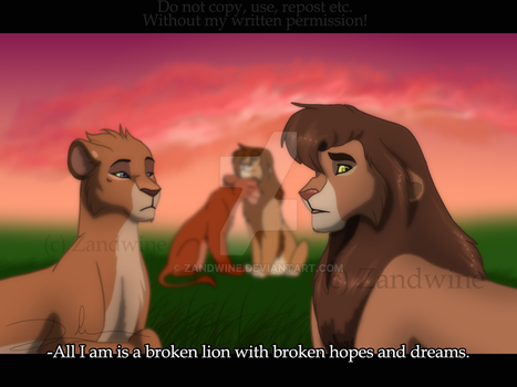 The Lion King - Meanwhile in Eastlands by Zandwine