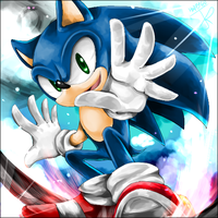 Sonic by HappyGaOn