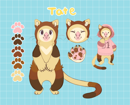 TATE REF SHEET by bootiehole